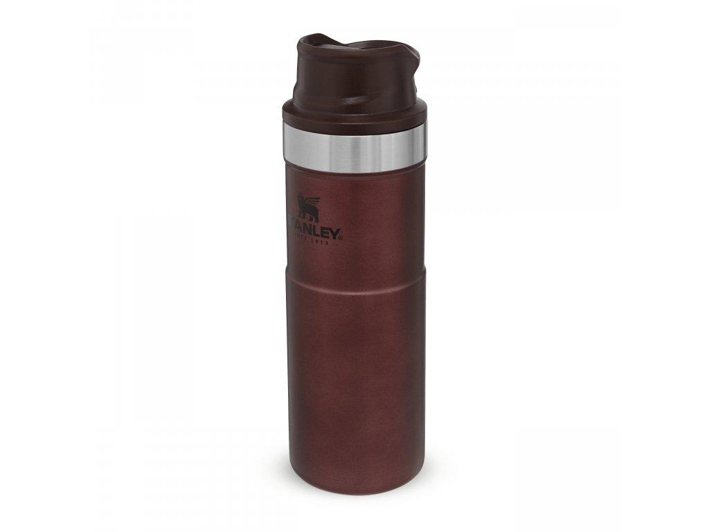 STANLEY Classic series termohrnek do jedné ruky verze 2.0 vínový 470ml