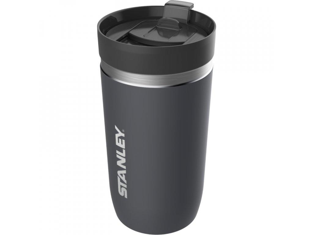 STANLEY Ceramivac™ termohrnek do auta 470 ml Asphalt šedý