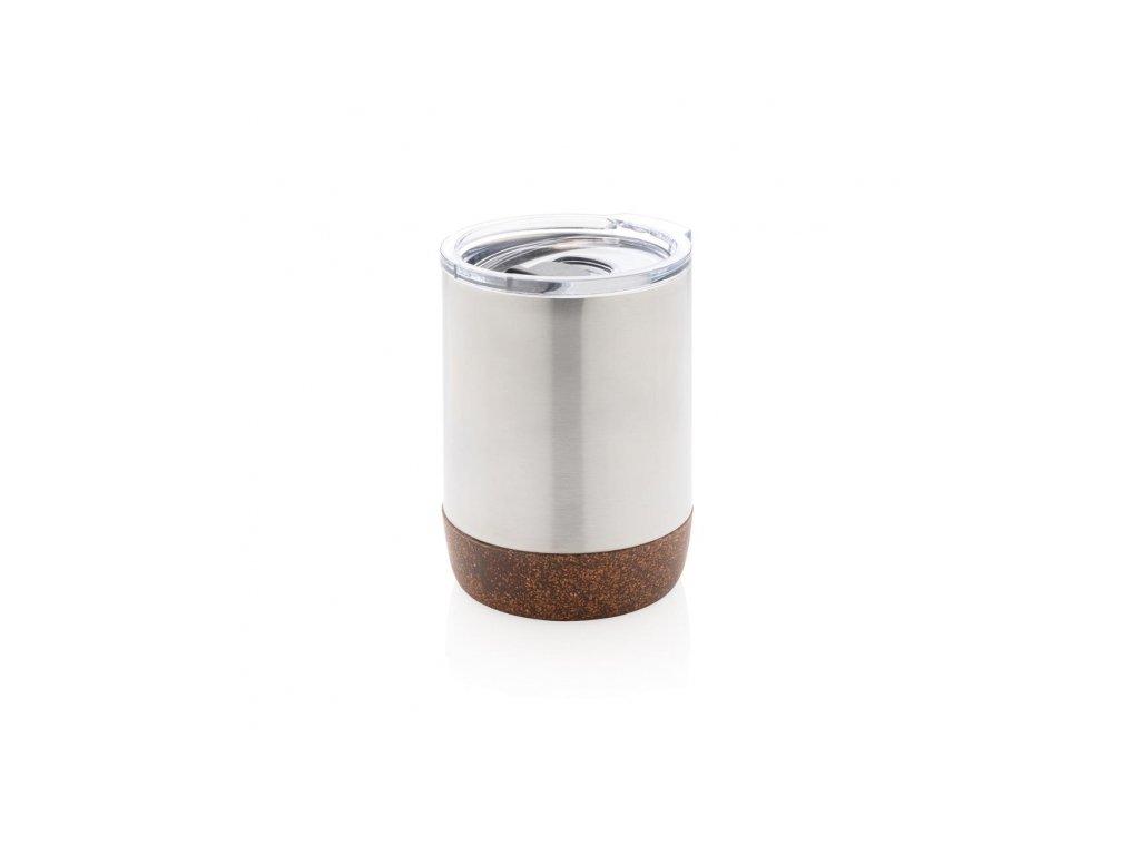 termohrnek do kavovaru cork xd design stribrny