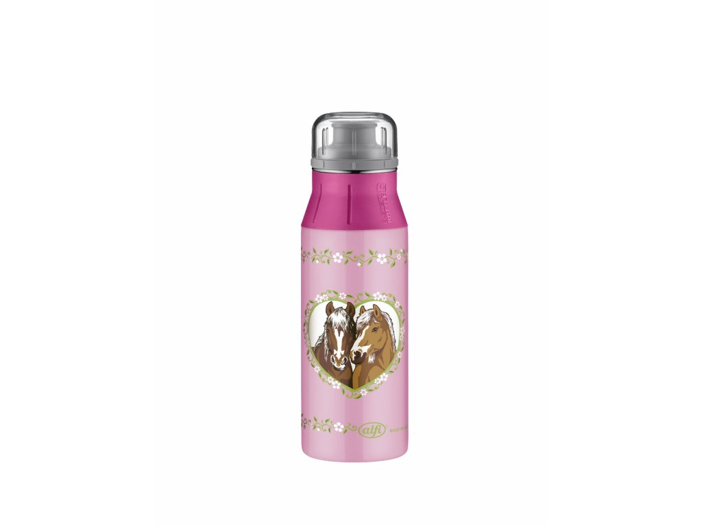 Lahev 2018 Horses pink 0,6l