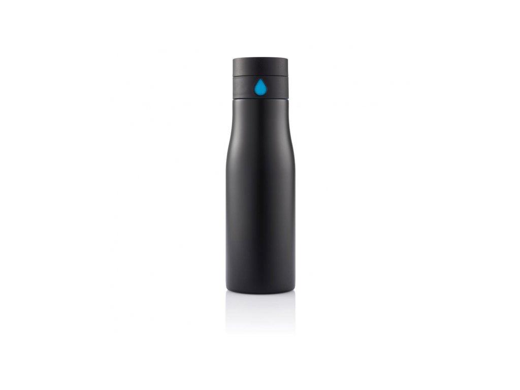 lahev na vodu z nerezove oceli aqua xd design cerna