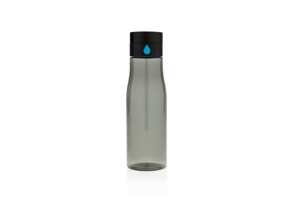 lahev na sledovani pitneho rezimu aqua cerna