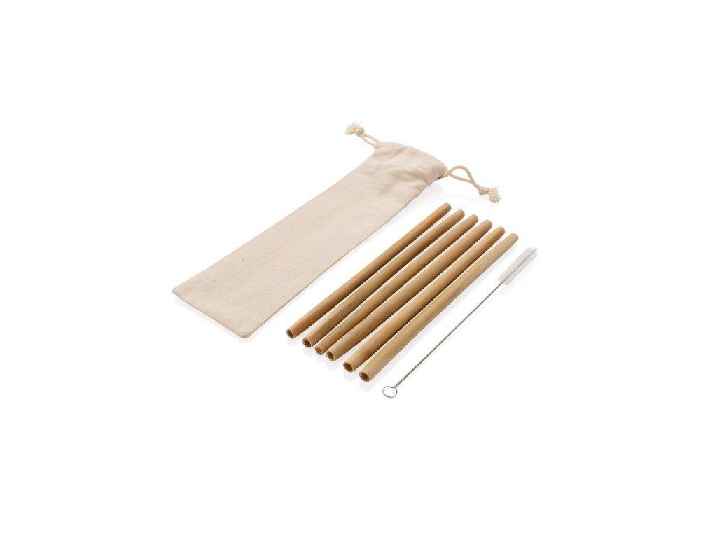 sada bambusovych brcek 6 ks xd design