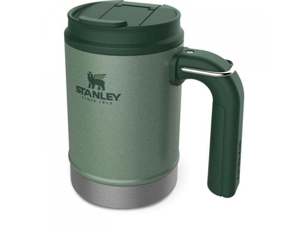 STANLEY Hrnek Camp mug Classic series 470ml zelený s uchem a očkem