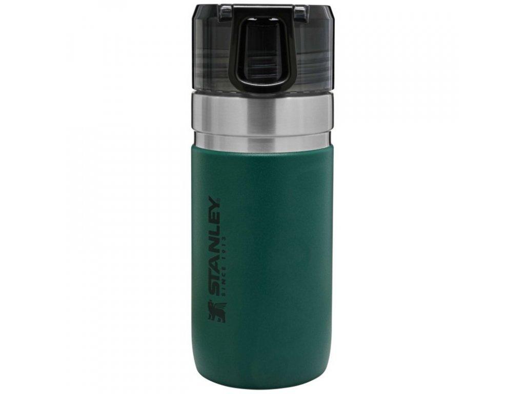 STANLEY vakuová láhev na vodu 470ml zelená