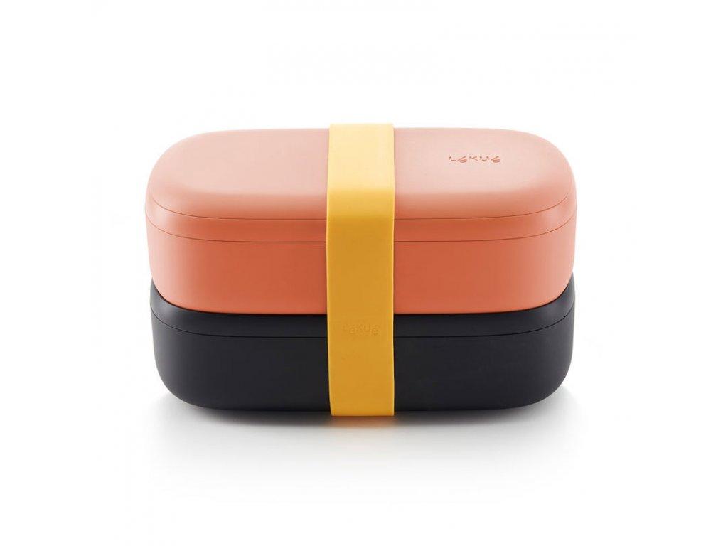 57233 svacinovy box lekue lunch box to go lososovy