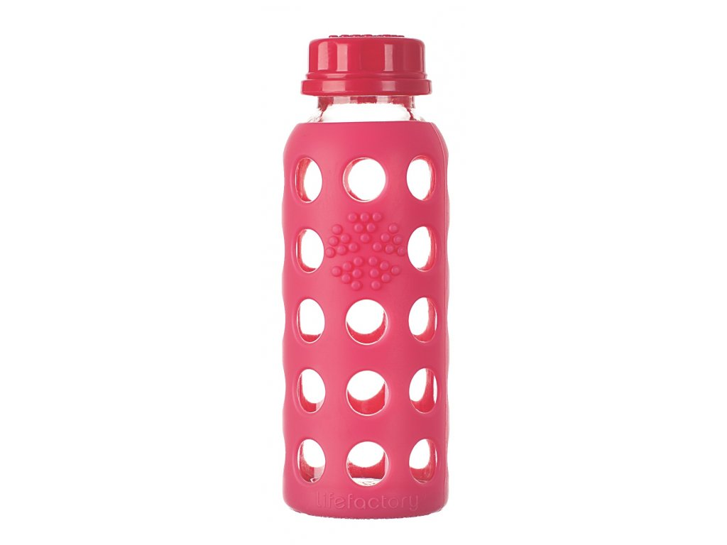 Lifefactory láhev 250ml raspberry