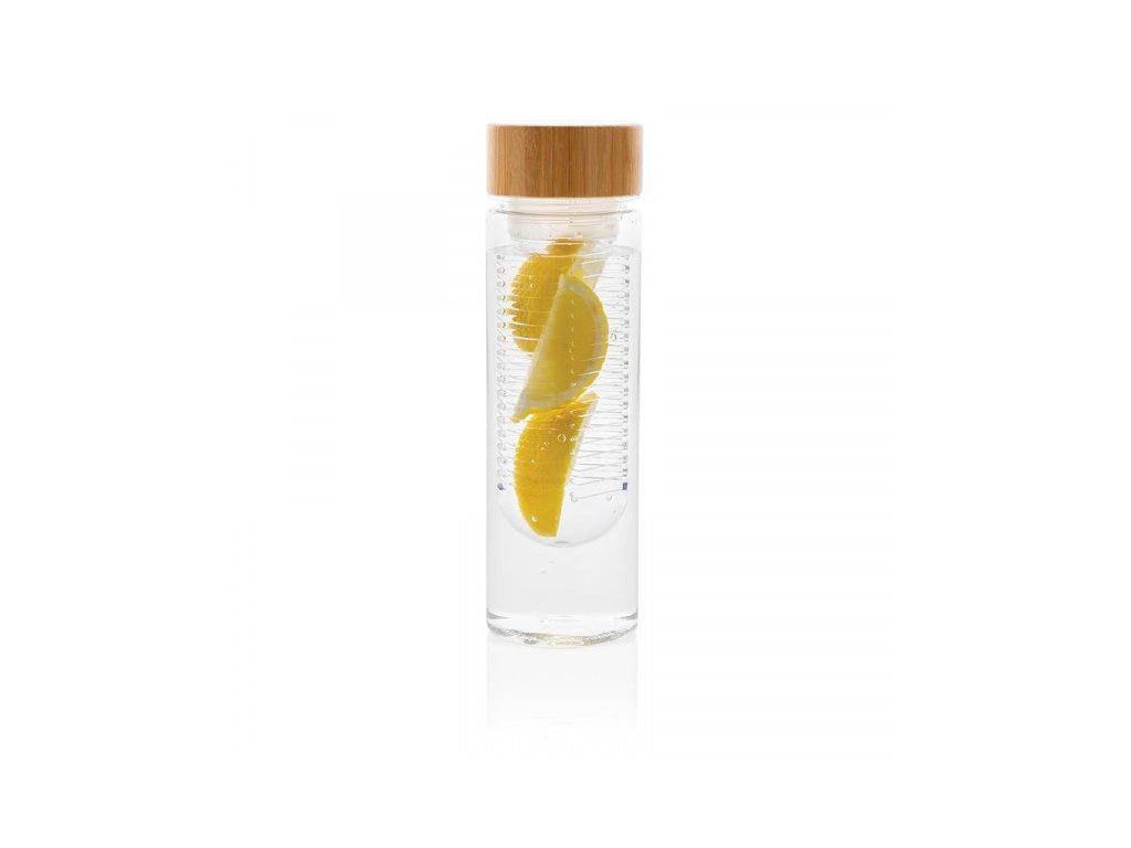 lahev na vodu s infuzerem a bambusovm vickem cira (1)