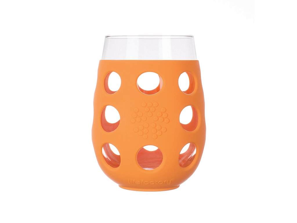Lifefactory sklenice 500ml 2ks orange