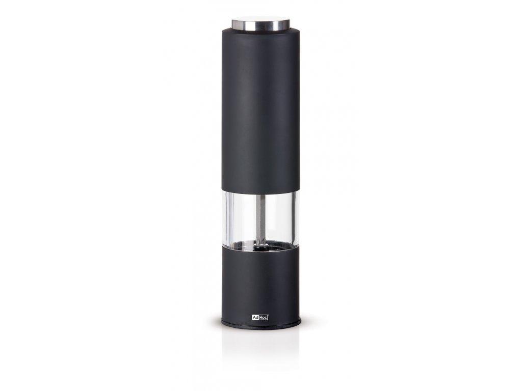 Elektrický mlýnek TROPICA - LED světlo, černý