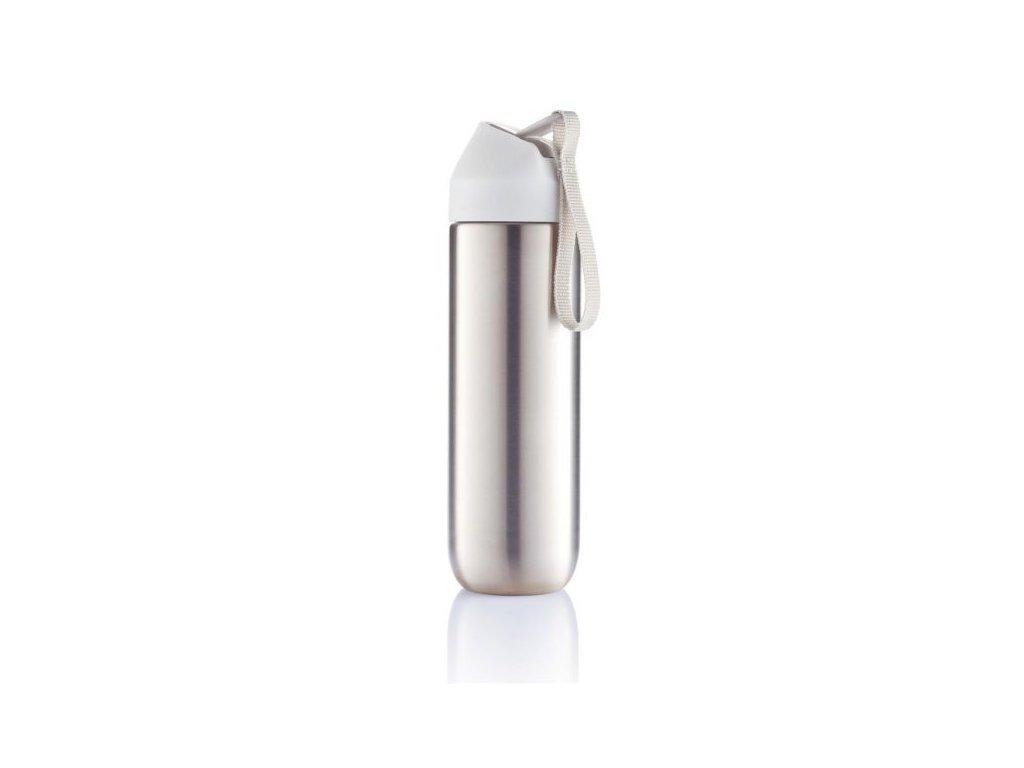 XD Design Neva, sportovní nerezová láhev, bílá