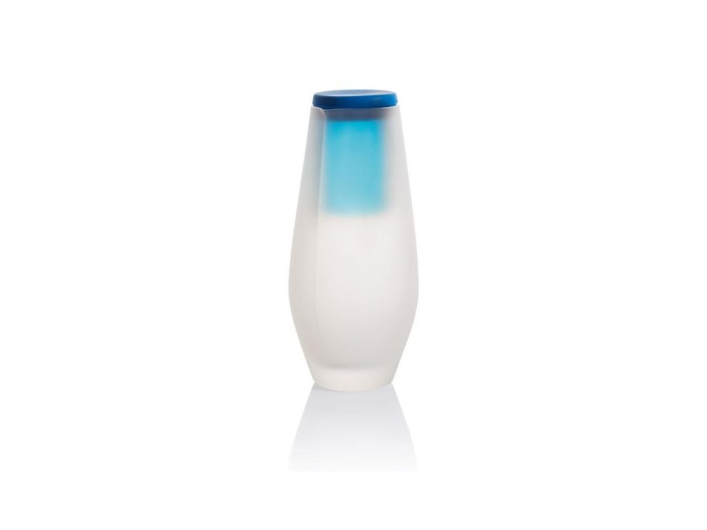 Hyta 500ml, karafa se skleničkou, modrá