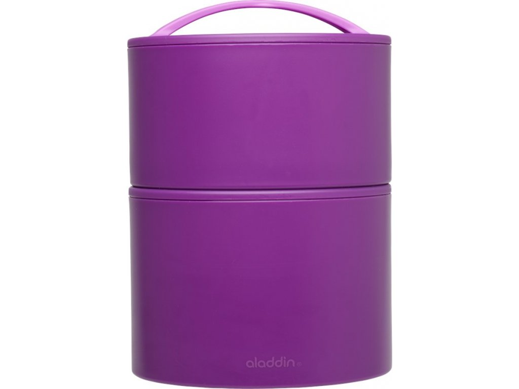 Termobox na oběd/svačinu BENTO 0,95l fialový