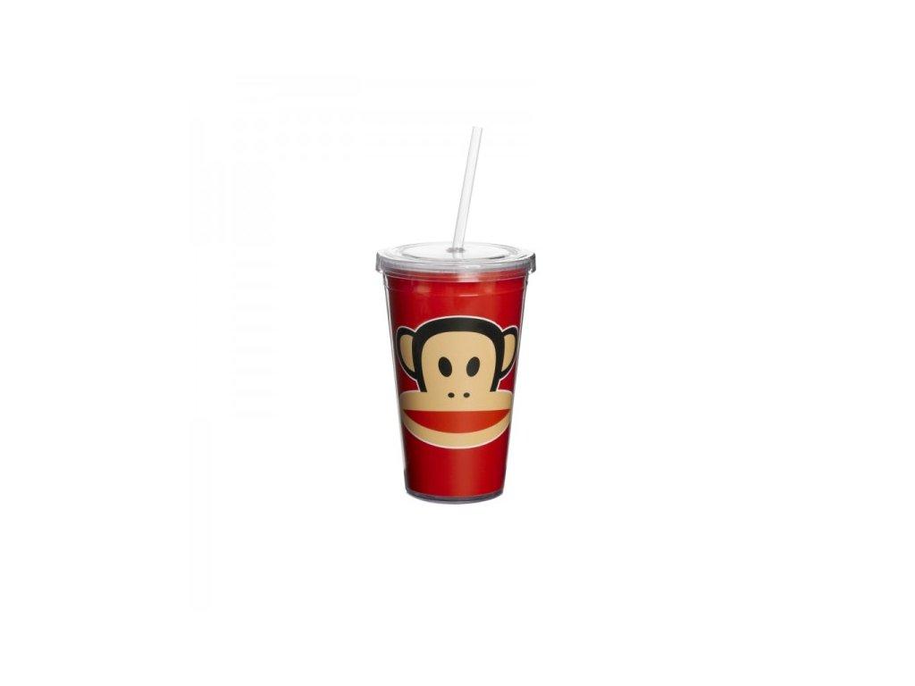 Paul Frank hrnek s brčkem červený