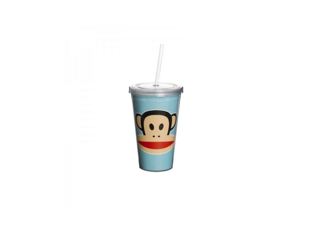 Paul Frank hrnek s brčkem modrý