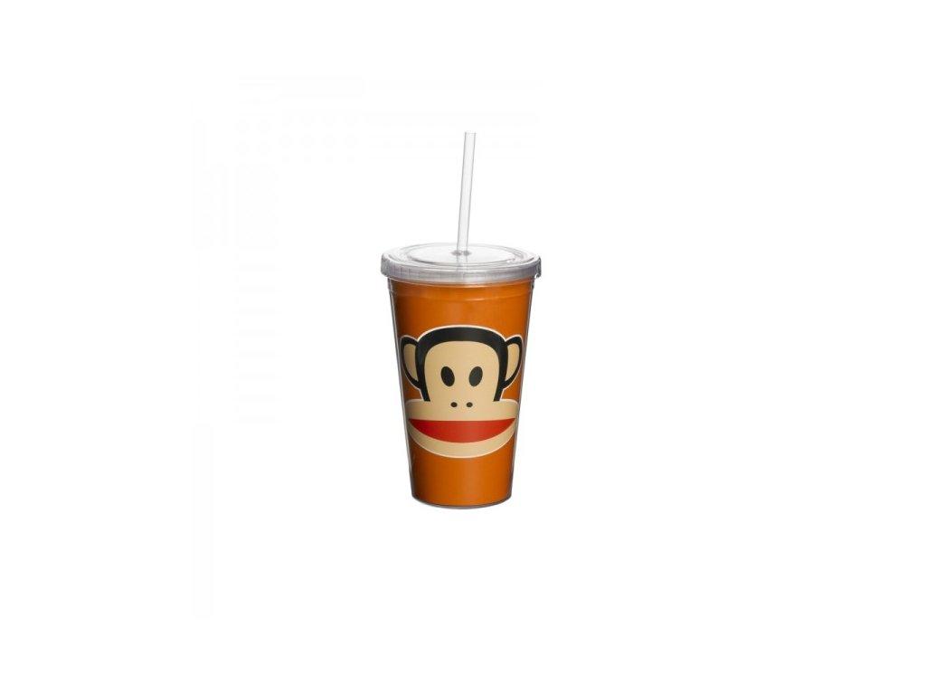 Paul Frank hrnek s brčkem oranžový