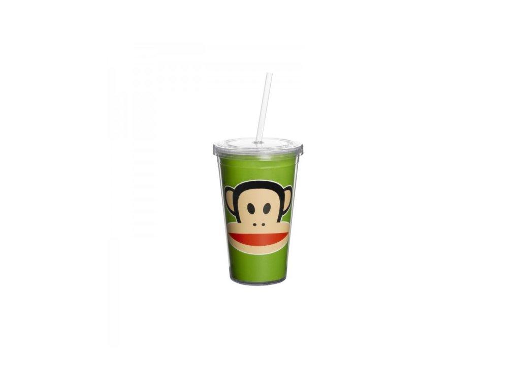 Paul Frank hrnek s brčkem zelený