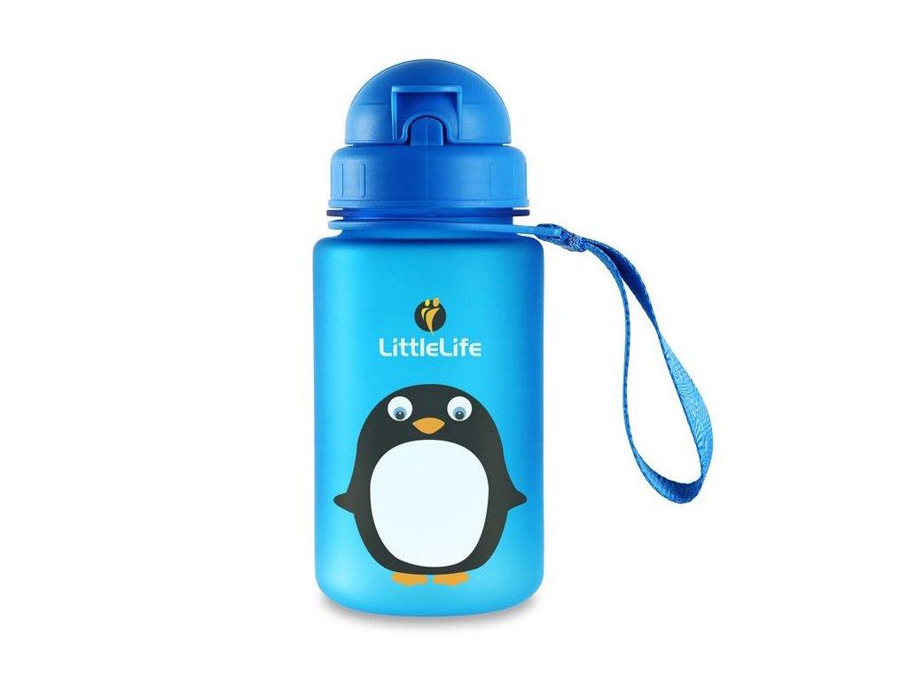 Animal Bottle láhev na vodu pro děti 400ml tučňák