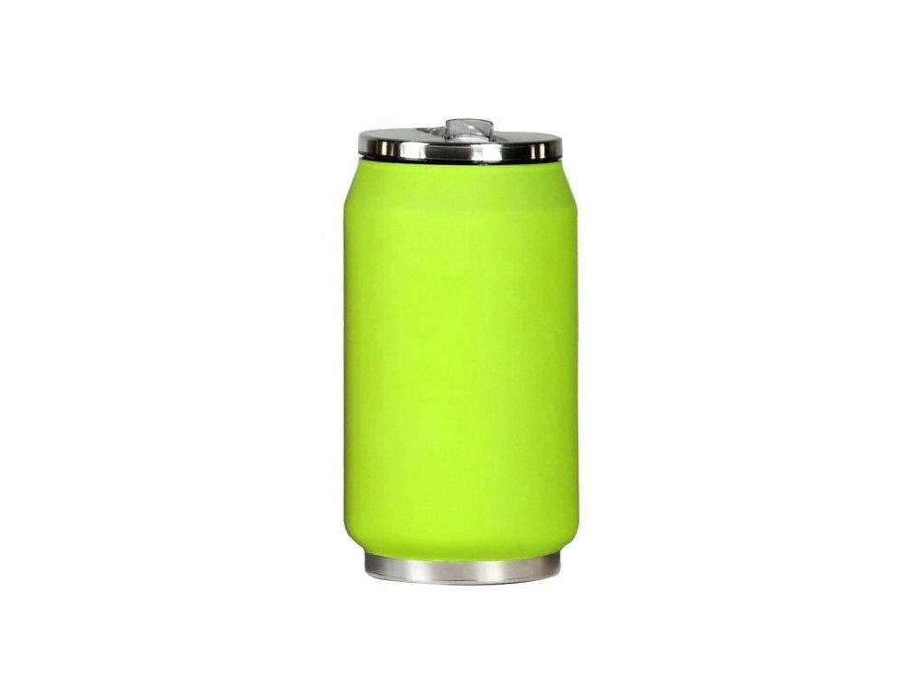yoko design canette isotherme 280 ml en inox vert