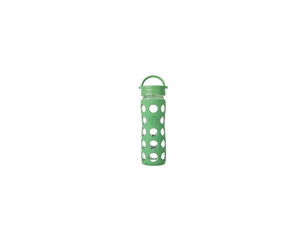 Lifefactory láhev s klasickým uzávěrem 475ml grass green