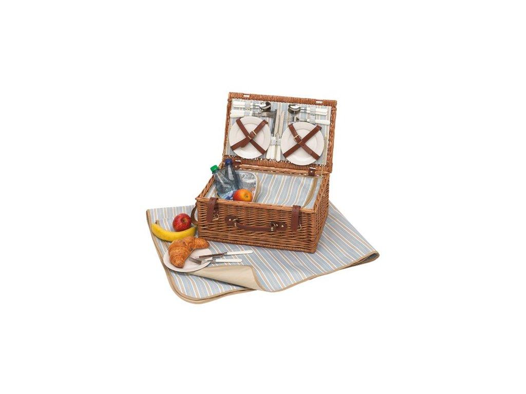 Piknikový koš  Madison s chladicí taškou - pro 4 osoby