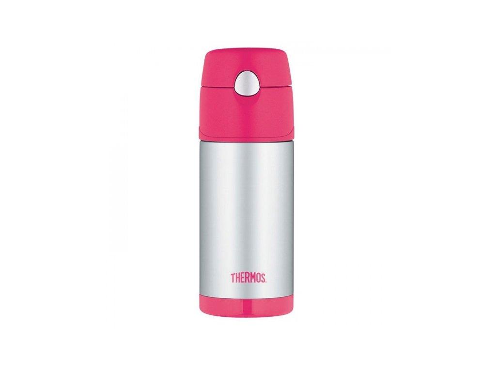 Dětská termoska - růžová