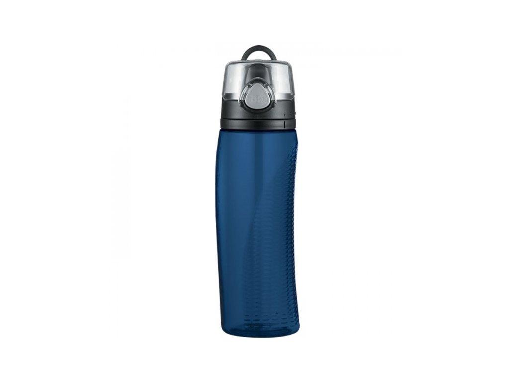 Hydratační láhev s počítadlem - tmavě modrá