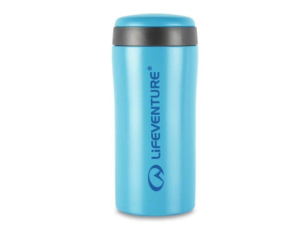 lifeventure termohrnek thermal mug svetle modry matny