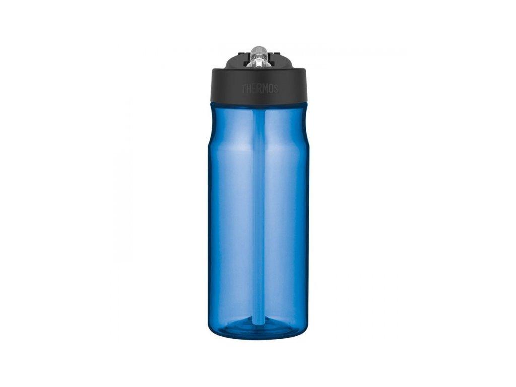 Hydratační láhev s brčkem o objemu 530 ml - světle modrá