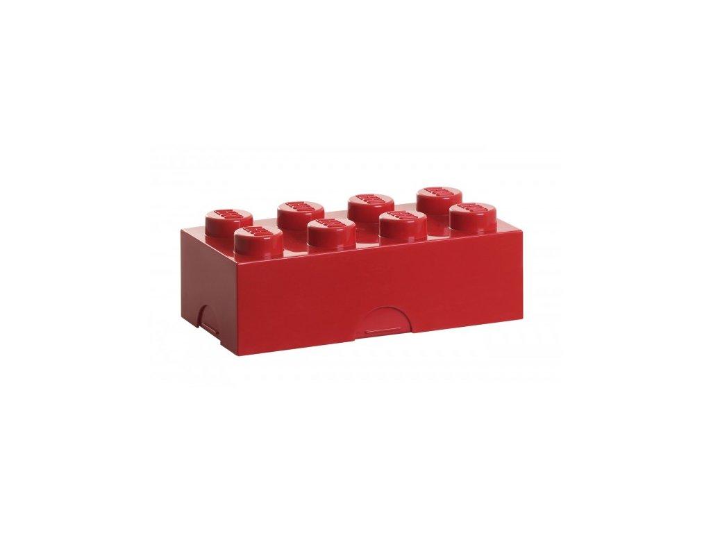 Lego box na svačinu - červená