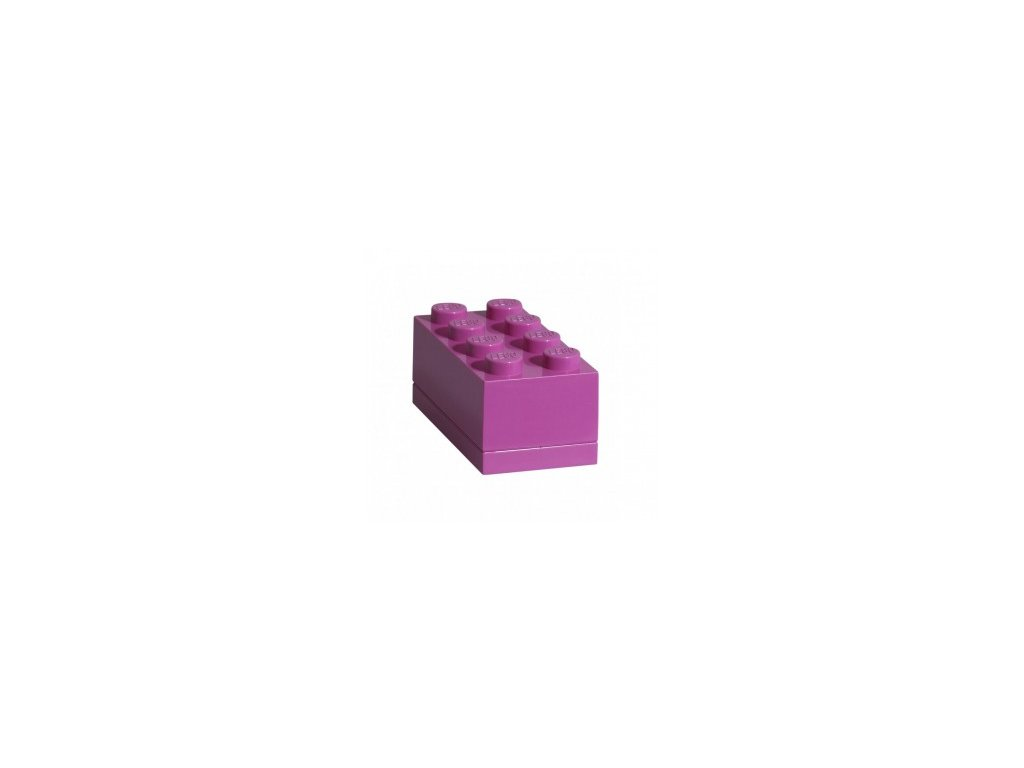 Lego box na svačinu - růžová