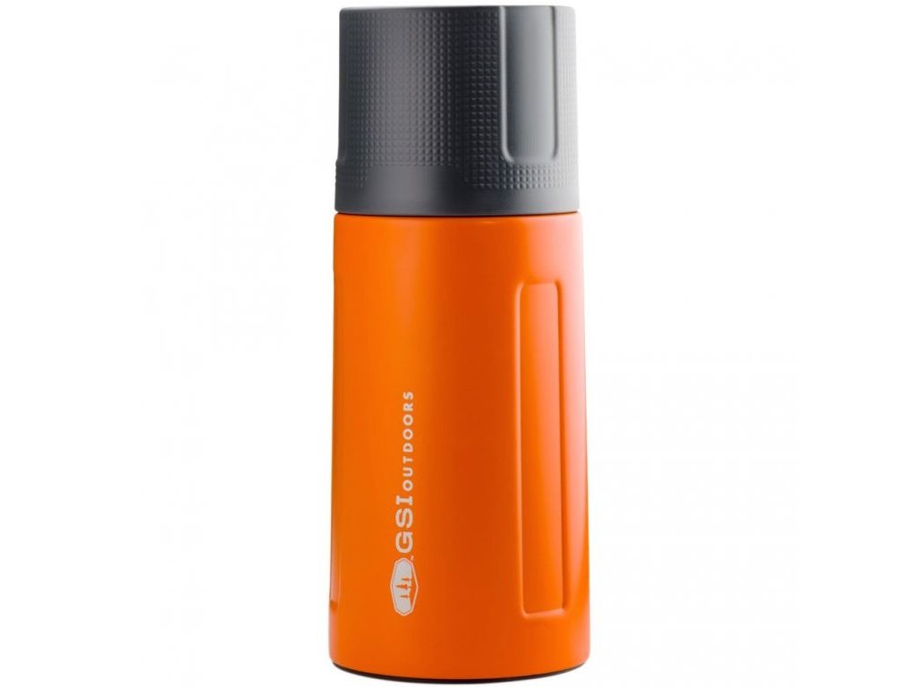 gsi outdoors termoska glacier stainless 500 ml oranzova