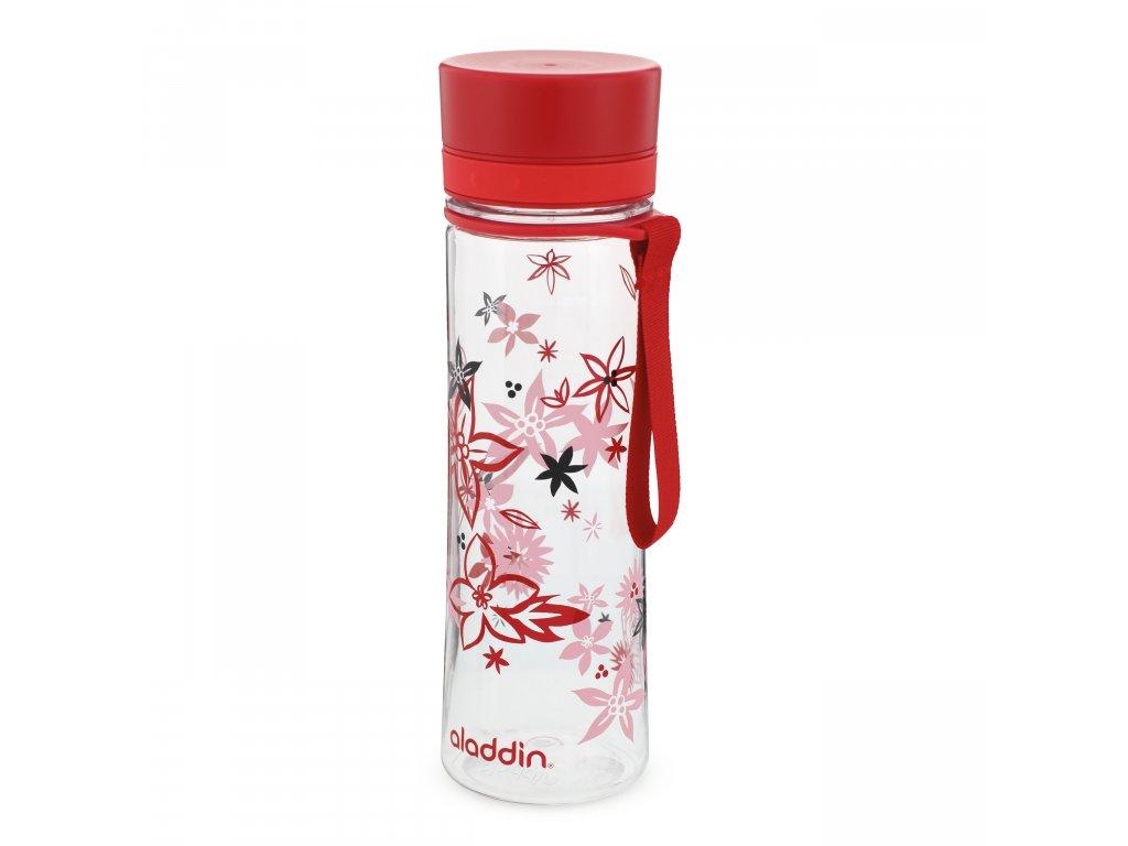 AVEO láhev na vodu 0.6L červená s potiskem