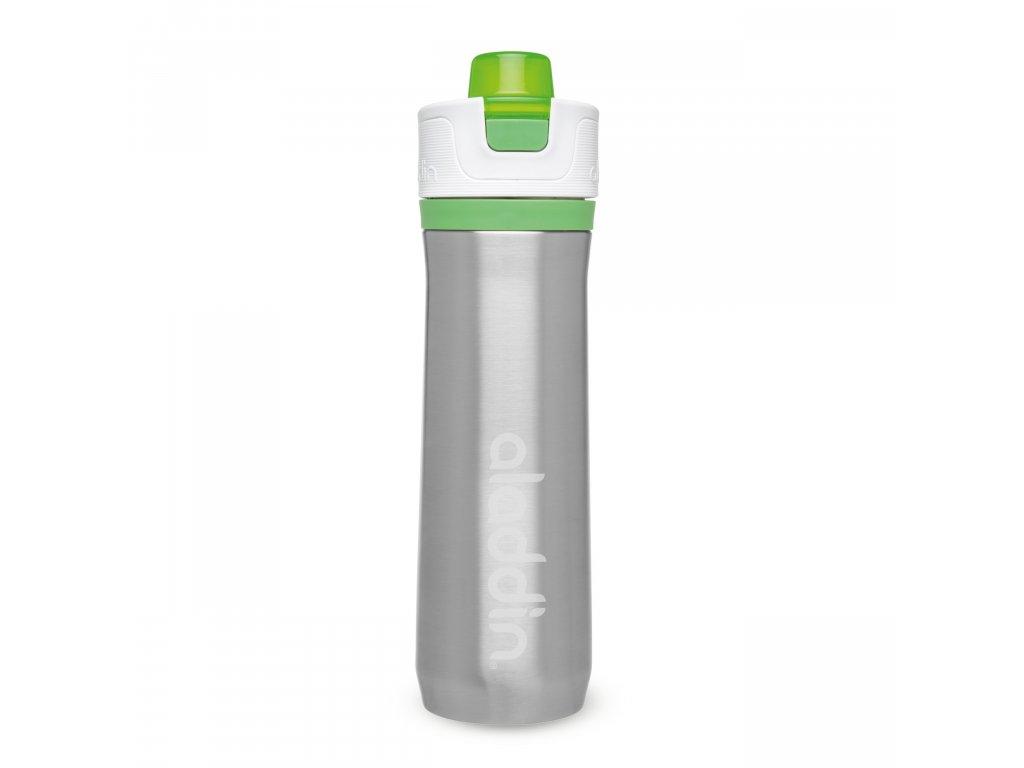 ALADDIN Sportovní vakuová láhev na vodu 600ml zelená