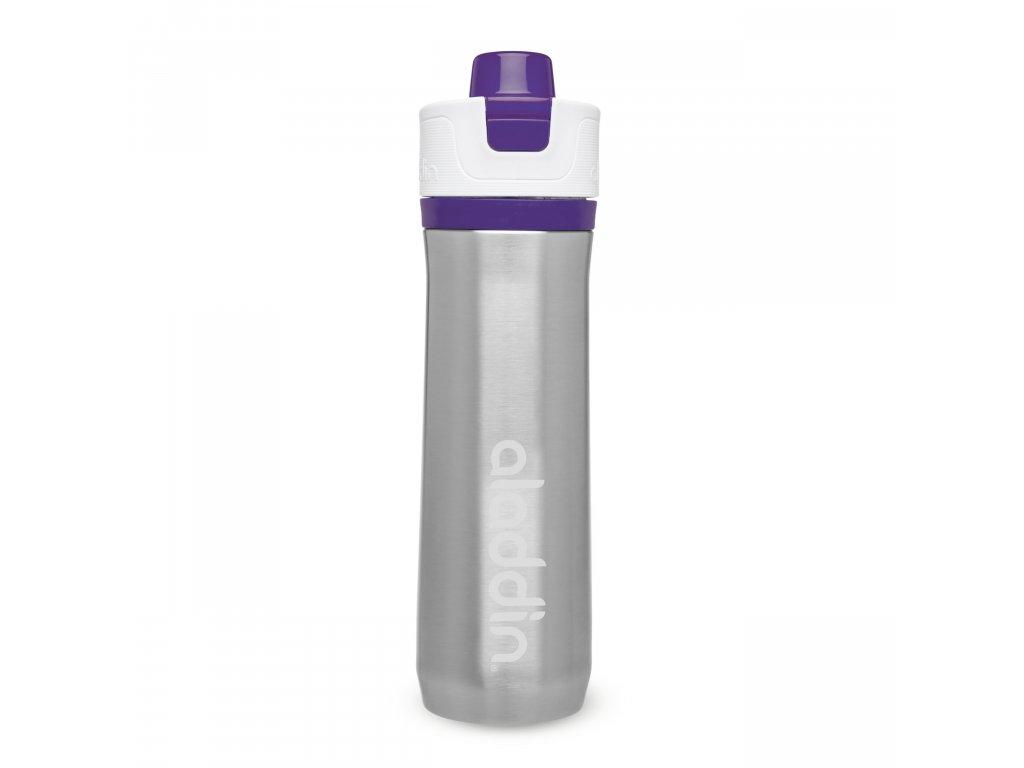ALADDIN Sportovní vakuová láhev na vodu 600ml fialová