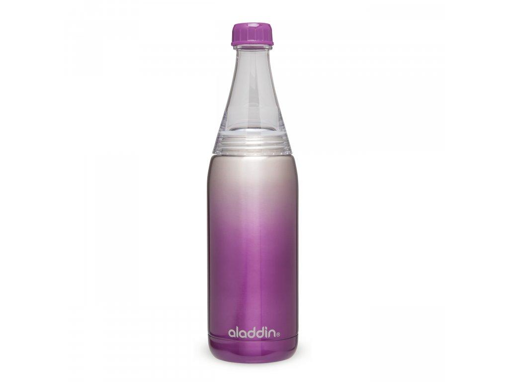 ALADDIN Fresco Twist&Go vakuová láhev na vodu 600ml fialová