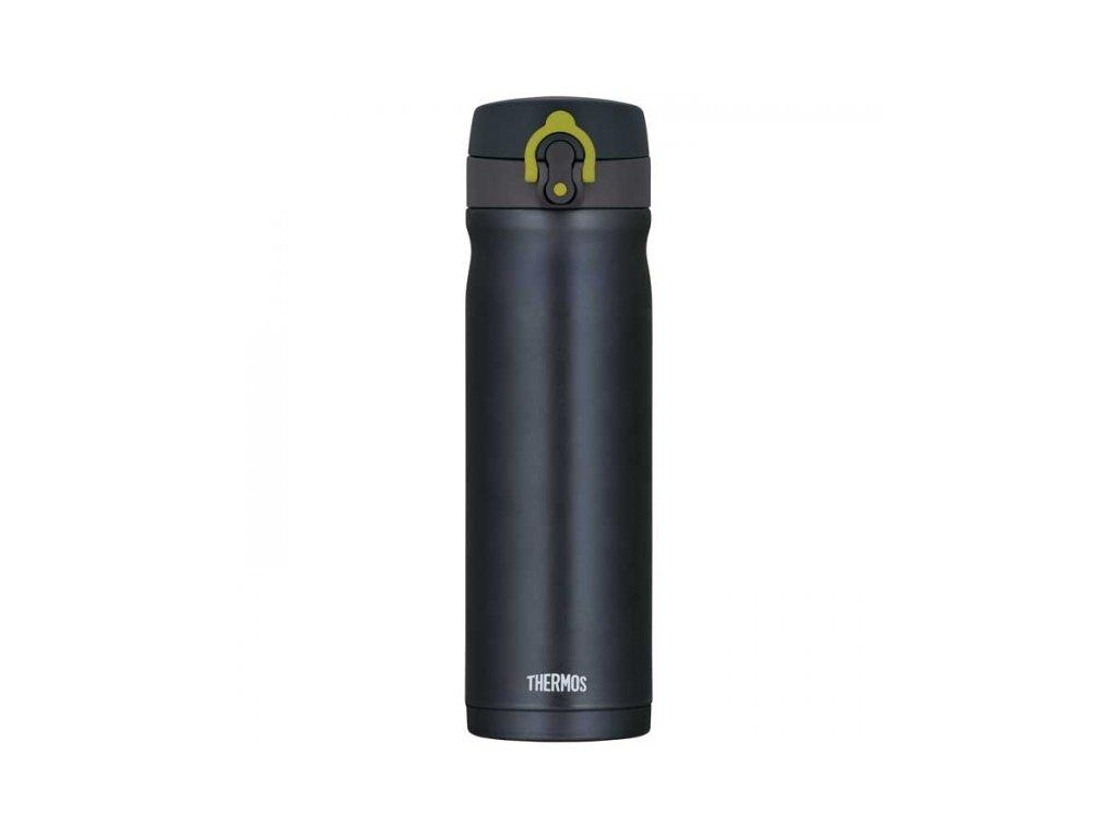 Mobilní termohrnek - metalicky šedá