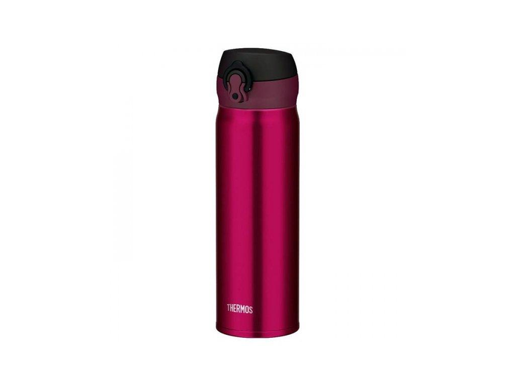 Mobilní termohrnek - vínově červená