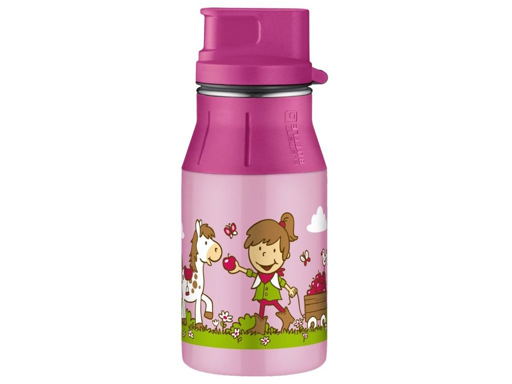Lahev II Farm pink 0,4l