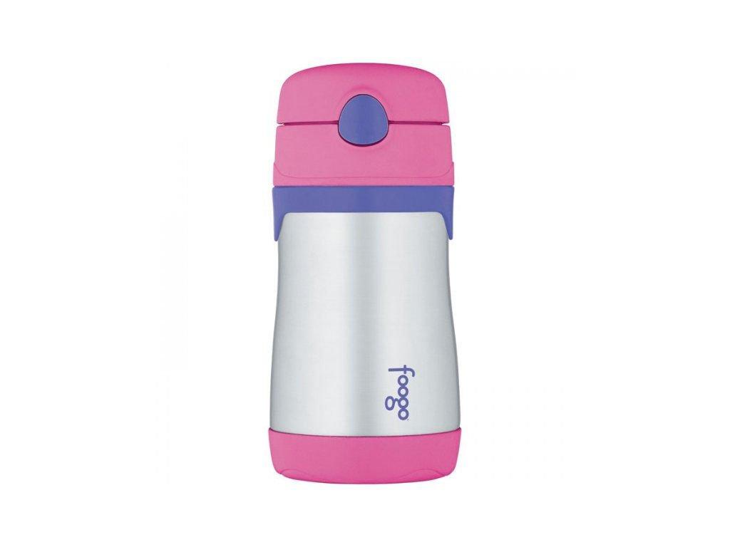 Kojenecká termoska Foogo - růžová