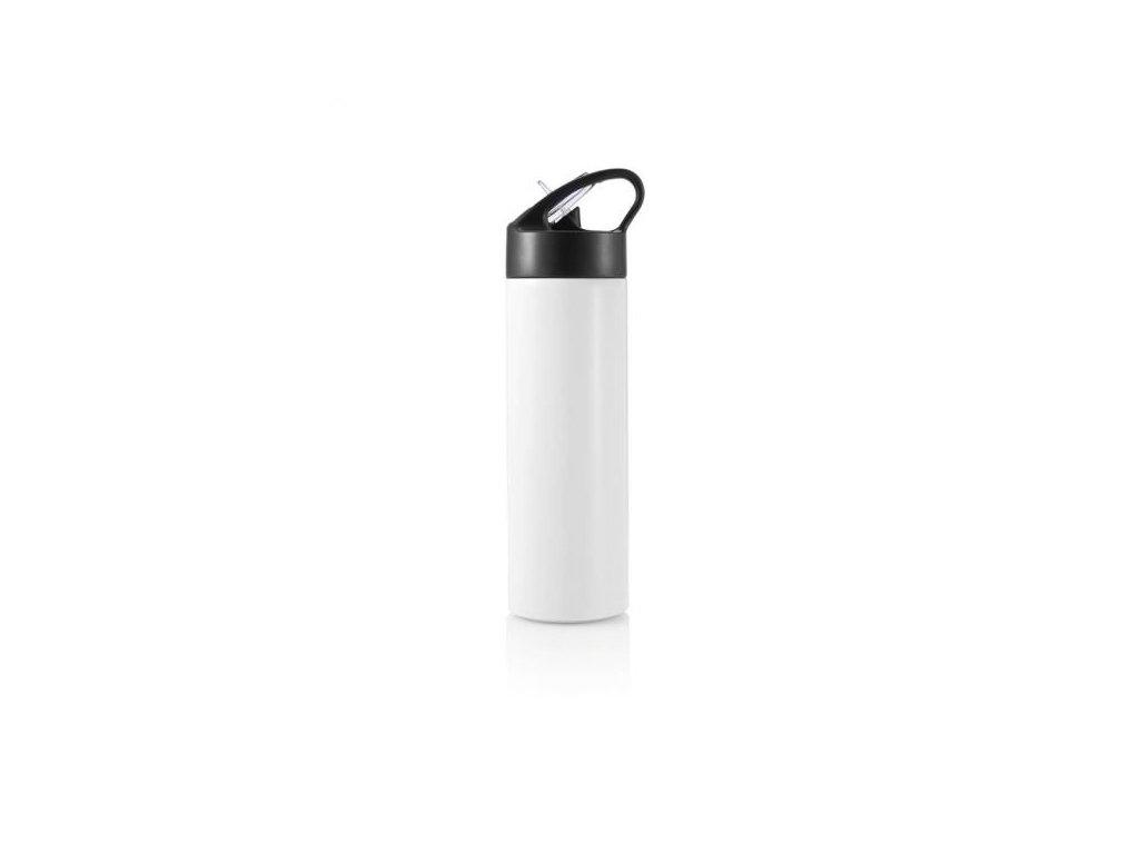 Sport, lahev s brčkem, 500ml, bílá