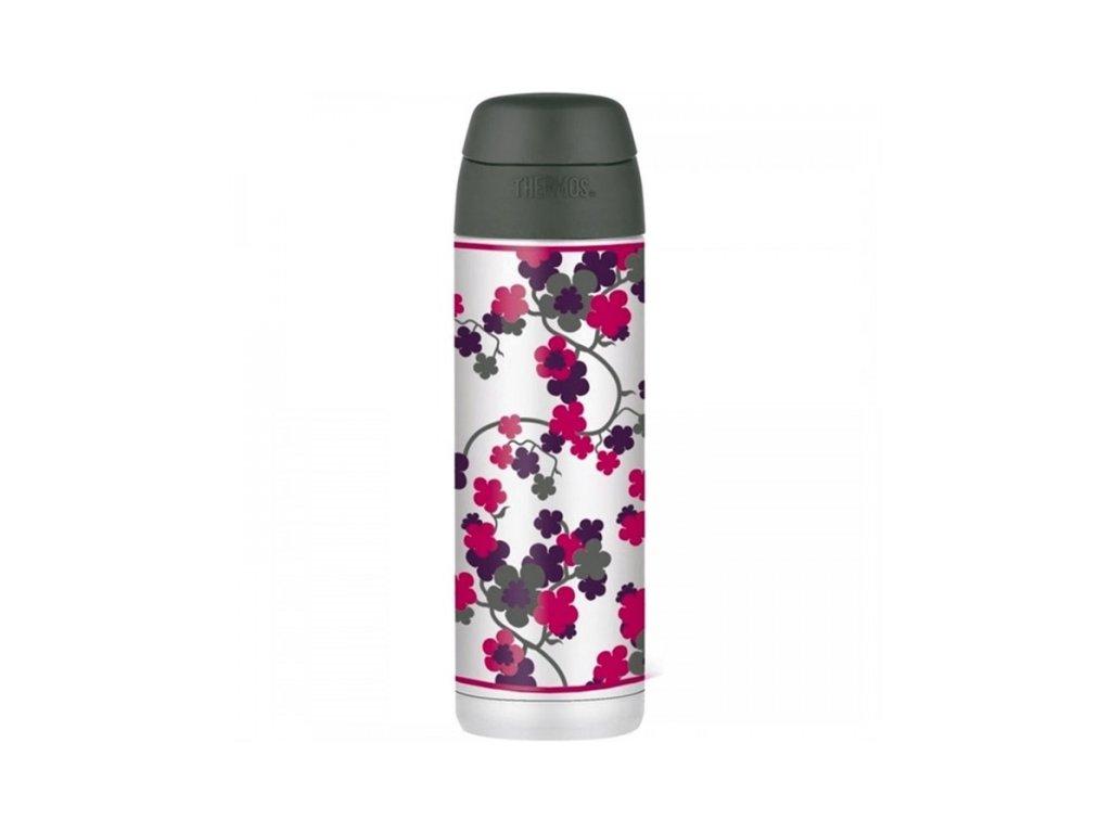 Termoska na nápoje s brčkem - třešňový květ