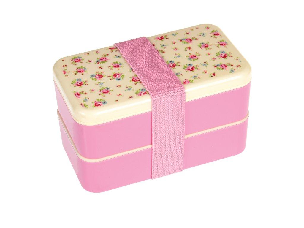 Dvoupatrový svačinový box Rex London - la petite rose