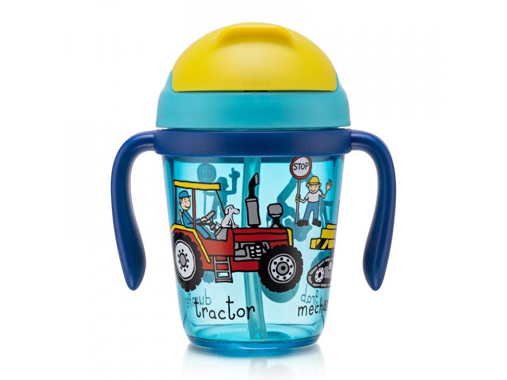 tyrrell katz trucks toddler bottle