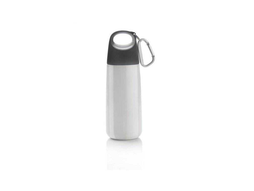 Bopp Mini lahev s karabinou, bílá