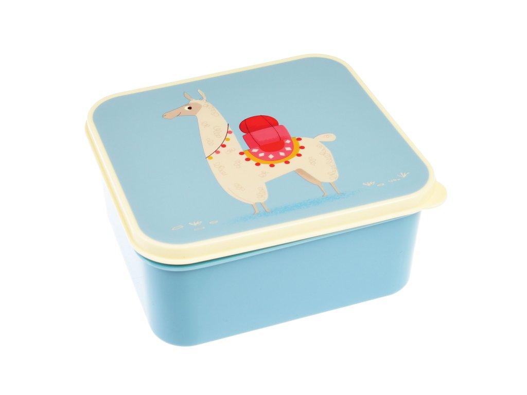 svačinový box Rex London - lama Dolly