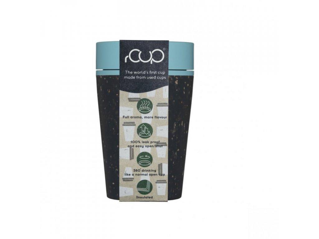 rcup kelimek hrnek na kavu opakovane pouzitelny recyklovany eko zelenadomacnost modry