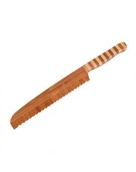 Nůž na chleba z bambusu 20 cm
