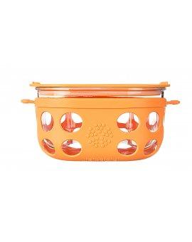 Lifefactory dóza 240ml orange