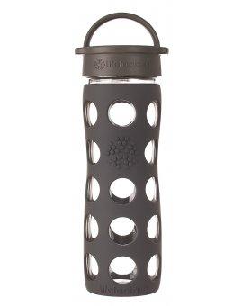 Lifefactory láhev s klasickým uzávěrem 475ml carbon